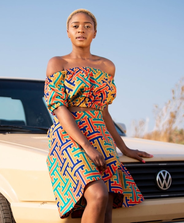 Doeks and Prints - Dintle African Print Wrap Skirt