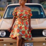 Doeks and Prints - Tshedi African Print Wrap Skirt