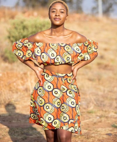 Doeks and Prints - Tshedi African Print Wrap Skirt 2