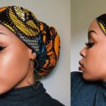 Low Bun Doek Style Tutorial