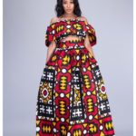 Vutomi African Prit Top and Skirt