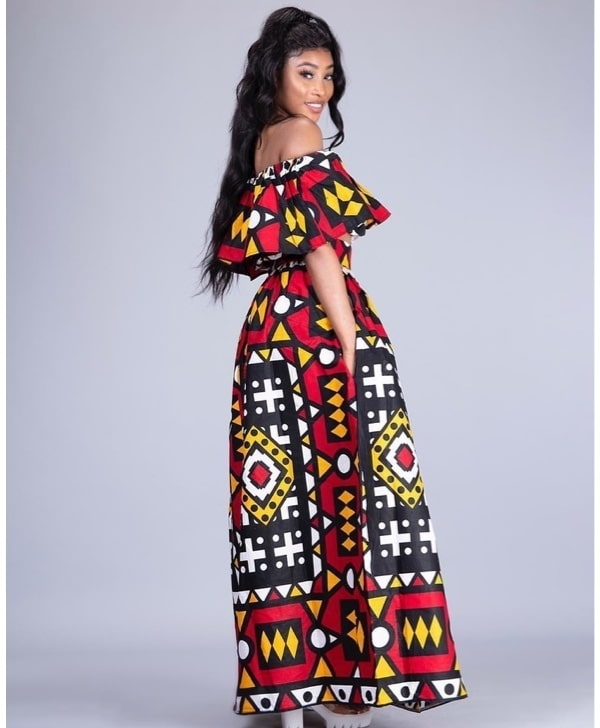 Vutomi African Print Top and Skirt